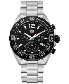 TAG Heuer Men's Swiss Chronograph Formula 1 Stainless Steel Bracelet Watch 43mm CAZ1010.BA0842