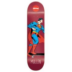 Almost Super Mongo Skateboard Deck - 8 Inch Deck Width: 8 inches