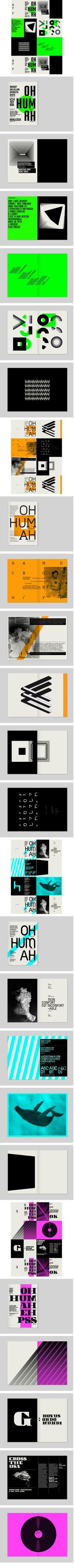 Brochure, Specimen, Font, CARNETS TYPOGRAPHIQUES,  by MY NAME IS WENDY  @Marie-Love Petit: Pour des idées de programme?