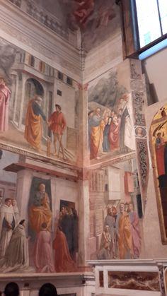La cappella Brancacci,  chiesa di Santa Maria del Carmine di Firenze Masaccio. Filippino Lippi.