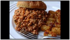Healthier Sloppy Joes With Turkey Oh Sweet Basil. Healthy Turkey Sloppy Joes Healthy Ideas For Kids. Healthy Sloppy Joe Recipe VIDEO Single Serving One . Home and Family Cheesy Chicken Sloppy Joes, Chicken Sloppy Joe Recipe, Healthy Sloppy Joe Recipe, Healthy Sloppy Joes, Turkey Sloppy Joes, Sloppy Joes Recipe, Parmesan Chicken Breast Recipe, Chicken Breast Instant Pot Recipes, Brussel Sprout Appetizer Recipe
