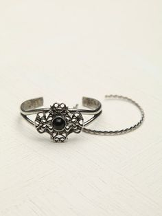 Free People Stone And Split Cuff (on sale: kr111.56)