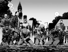 There's one big event from the comics you won't see on 'The Walking Dead' — and there's probably a good reason why Walking Dead Facts, Walking Dead Comic Book, Walking Dead Comics, Walking Dead Season 8, The Walking Dead 2, Walking Dead Series, Twd Comics, Merle Dixon, Sonequa Martin Green