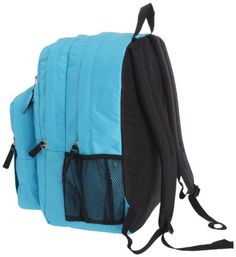 JanSport Big Student Classics Series Daypack, Mammoth Blue - Click image twice for more info - See a larger selection of blue backpacks at http://kidsbackpackstore.com/product-category/red-backpacks/. - kids, juniors, back to school, kids fashion ideas, teens fashion ideas, school supplies, backpack, bag , teenagers girls , gift ideas, blue