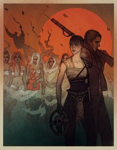 Mad Max Fury Road fan art by Lenka
