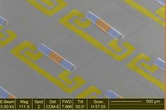 Electronic components join forces to take up 10 times less space on computer chips ...  #electronics