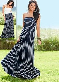 Strapless maxi dress from VENUS women's swimwear and sexy clothing. Order Strapless maxi dress for women from the online catalog or Strapless Maxi, Strapless Dress Formal, Look Fashion, Womens Fashion, Dress Fashion, Maxis, Sundresses, Mode Inspiration, Dress Me Up