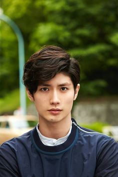 Saving this for a character design. Good base for Mizu Kakihara… (Miura Haruma)