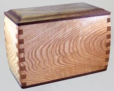Box-Type Wood Cremation Urns / Cremation Boxes - for HUMAN Cremation Ashes