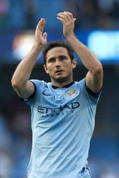 Frank Lampard - Manchester City FC and England NT. Jack Black, Antara, Leicester, Manchester City, Champions League, Football Players, Premier League, Chelsea, Sports