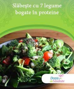 Slăbește cu 7 legume bogate în proteine   Avem la dispoziție numeroase legume bogate în proteine care ne pot ajuta să slăbim fără a ne pune în pericol starea generală de sănătate. Sprouts, Diabetes, Cabbage, Health Fitness, Chicken, Pune, Vegetables, Food, Fitness Plan
