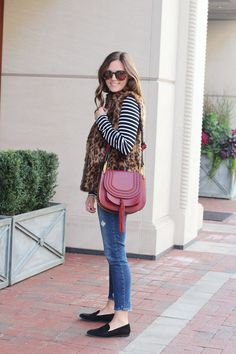 jillgg's good life (for less) | a west michigan style blog: my everyday style: leopard print vest!