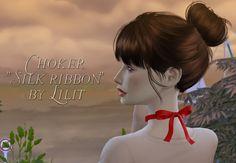 "Choker ""Silk ribbon"" by Lilit"