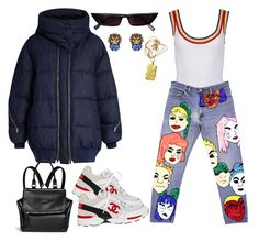 """""""Untitled #540"""" by ga-gs ❤ liked on Polyvore featuring STELLA McCARTNEY, Di$count Universe, Givenchy, Gucci and ORIT"""