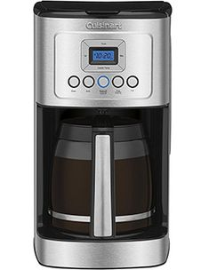 Copper collection 14 cup programmable cuisinart dcc 2205 14 cup programmable cup programmable coffee maker cuisinart cbc brew central 14 drip coffee maker with … Real Coffee, Coffee Type, Iced Coffee, Coffee Shop, Best Drip Coffee Maker, Cappuccino Maker, Frijoles, Coffee Beans, Black Metal