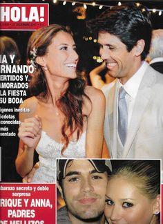 Hola magazine Ana Boyer Fernando Verdasco Hugh Jackman Enrique Iglesias Fashion