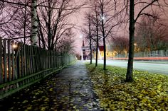 Beautiful Tampere by Essi Kannelkoski Finland, Sidewalk, Country Roads, City, Beautiful, Side Walkway, Sidewalks, Cities, Pavement