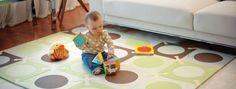 Manta de actividades o alfombra de foam #bebes #niños #foam #gatear #juegos #unamamanovata ▲▲▲ www.unamamanovata.com ▲▲▲