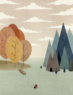Inspiration for Little Canoe by Sierra Gallagher - Skillshare
