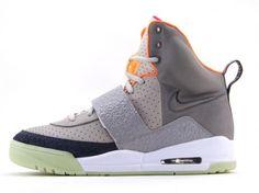 :: Nike Air Yeezy Kanye West Zen Grey / Light Charcoal ::