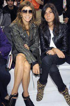 Emmanuelle Alt / Editor-in-chief of Vogue Paris / French Voguette / Parisian