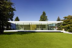 Modern Nature - The stunning D10 house by Werner Sobek Engineering and Design.