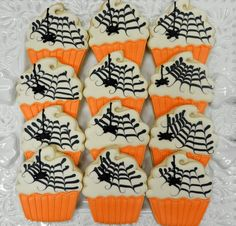 Flour Box Bakery — How to Decorate a Spooky Cupcake