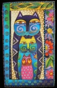 I think this is  Laurel Burch ~LoVe her work! ~ ALW