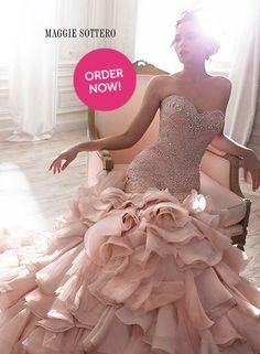 Weddn dress bliss bridal