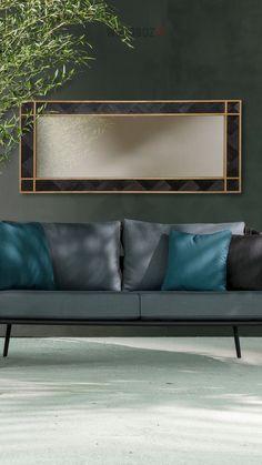 WoodBlack - Black Mamba VI Wood Mirror, Black Mamba, Couch, Furniture, Home Decor, Settee, Decoration Home, Sofa, Room Decor