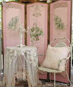 Chic Shabby and French Romantic Cottage Decor #shabbychicbedroomsrustic