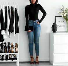winter fashion trends that looks fabulous pin 69909 Mode Outfits, Fall Outfits, Casual Outfits, Fashion Outfits, Womens Fashion, Fashion Trends, Fashion Hacks, Simple Winter Outfits, Fashion Ideas
