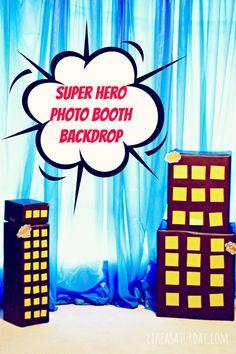 Super Hero Photo Booth |
