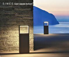 COOL SQUARE LED bollard light by SIMES