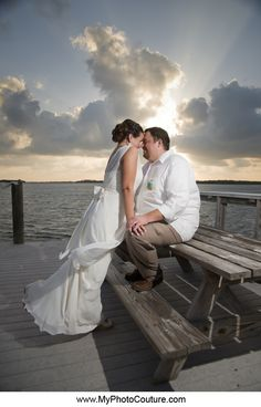 #couple #wedding #florida #water #ocean #beach #sunset #light #dramatic #wife #husband #marriage #myphotocouture #photography @MyPhotoCouture