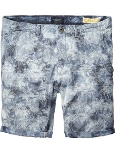 Indigo Chino Shorts |Short pants|Men Clothing at Scotch & Soda