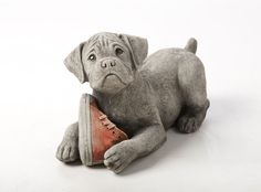 Oswaldtwistle Mills | Oakley Stone Animals - Dog and Shoe