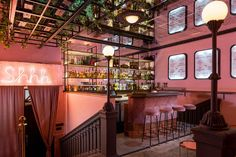 The golden age of French cinema is celebrated at dusty pink Kiev speakeasy, but keep it to yourself...