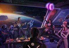 Mass Effect 3 fan-proposed ending