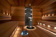 Kivat leveät laudelaudat, valaistu kiulu Sun Sauna - Sun Sauna Kotikylpylä, Relax