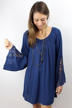 An easy, bohemian dress - only $45! Yes, please! #boho #stylesteal