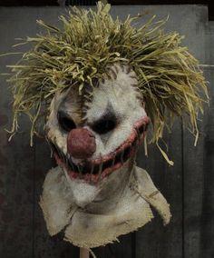 Resultado de imagem para burlap clown mask