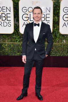 Michael Fassbender in Tom Ford - red carpet