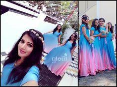 Indian Bridesmaid Dresses, Bridesmaid Saree, Bridesmaid Outfit, Indian Gowns Dresses, Indian Fashion Dresses, Bridal Dresses, Long Gown Dress, Frock Dress, Lehenga Gown