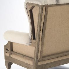 Zentique Morten Deconstructed Wingback Chair