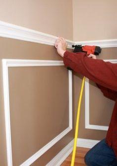 Ordinaire How To: Install Chair Rail Molding