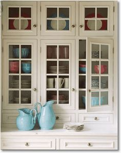 Gorgeous cupboard space