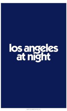 Los Angeles at Night Poster – Hammer Store Los Angeles At Night 3825992bc50