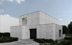 Mimesis Arch-Viz - Architecture Visualization Studio - MM Residence, Poznan Architecture Visualization, Architecture Design, Ideal Home, Modern Design, House Plans, Exterior, House Design, House Styles, Contemporary Houses