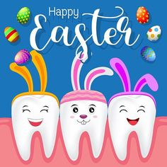 Happy Easter from us at Dr. Savastano and Dunn Orthodontics